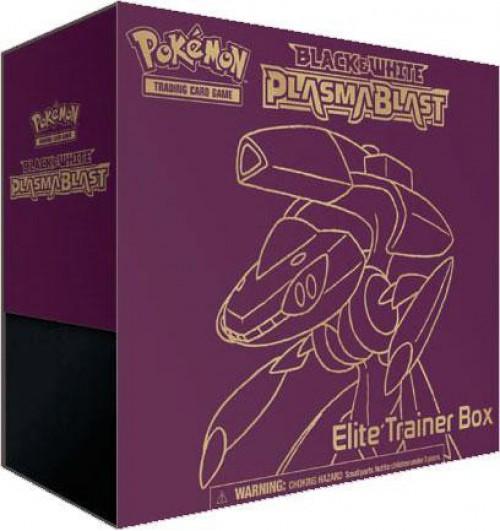 Pokemon Trading Card Game Black & White Plasma Blast Genesect Elite Trainer Box [8 Booster Packs, 65 Card Sleeves & More]