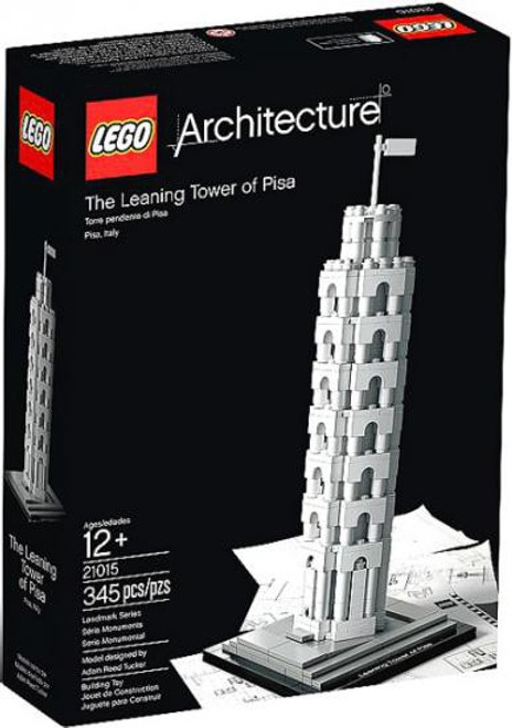 LEGO Architecture The Leaning Tower of Pisa Set #21015