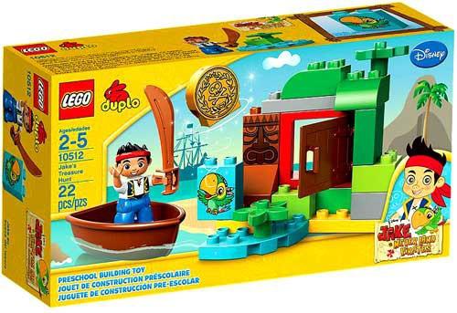 LEGO DIsney Duplo Jake and the Never Land Pirates Jake's Treasure Hunt Set #10512