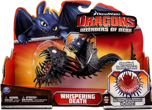 How to Train Your Dragon Defenders of Berk Whispering Death Action Figure [Black]