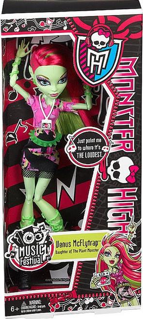 Monster High Music Festival Venus McFlytrap 10.5-Inch Doll