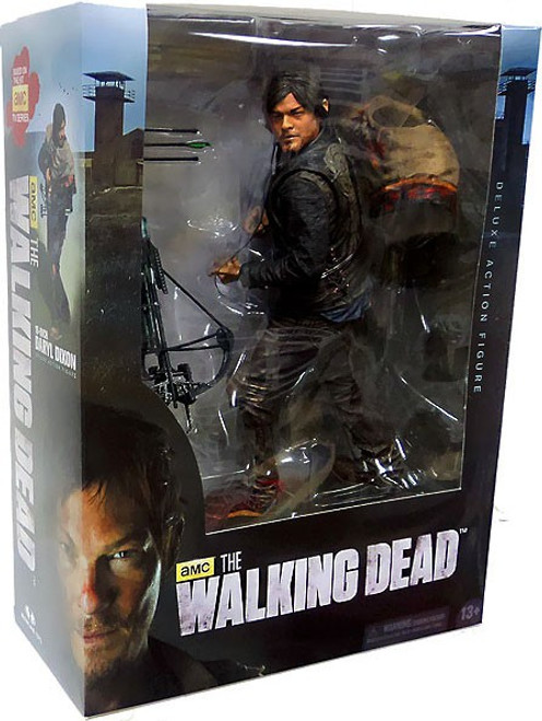 McFarlane Toys The Walking Dead AMC TV Daryl Dixon Deluxe Action Figure