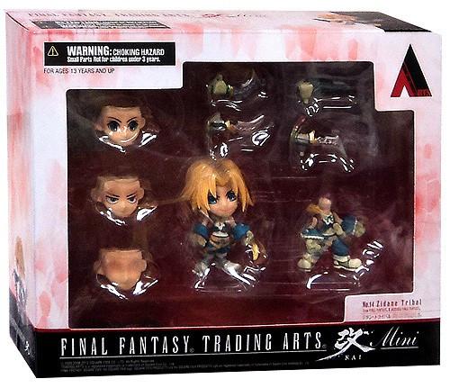 Final Fantasy IX Trading Arts Vol 2 Zidane Mini Figure