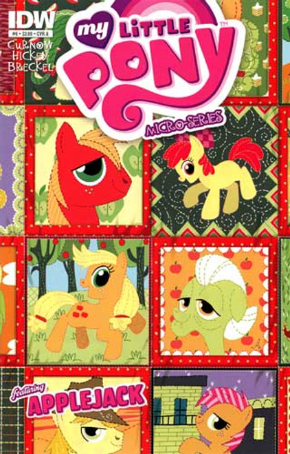 My Little Pony Micro-Series #6 Featuring Applejack Comic Book [Cover A]