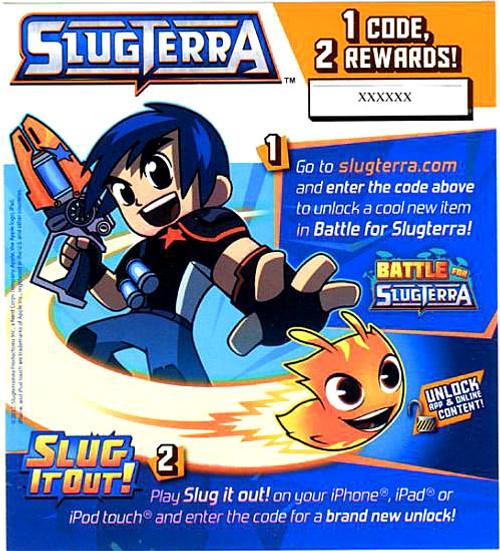 Slugterra Game Code
