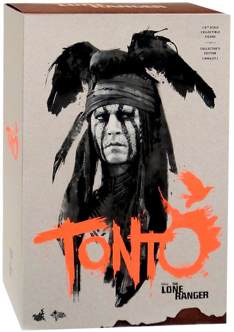 The Lone Ranger Movie Masterpiece Tonto Collectible Figure
