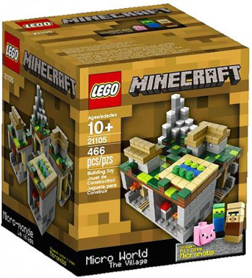 LEGO Minecraft Micro World The Village Set #21105
