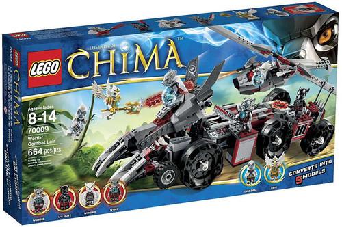 LEGO Legends of Chima Worriz' Combat Lair Set #70009