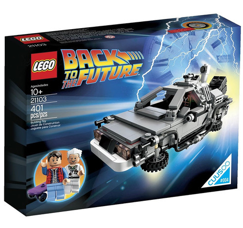 LEGO Back to the Future DeLorean Time Machine Set #21103