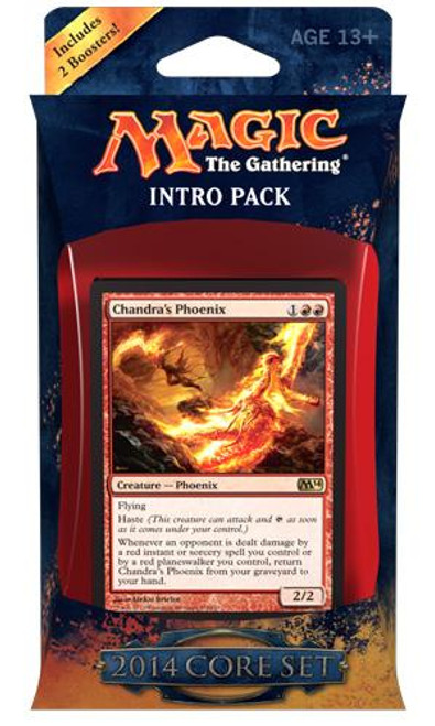 MtG Trading Card Game 2014 Core Set Fire Surge Intro Pack