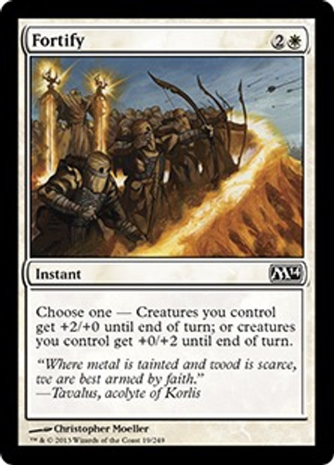 MtG 2014 Core Set Common Fortify #19