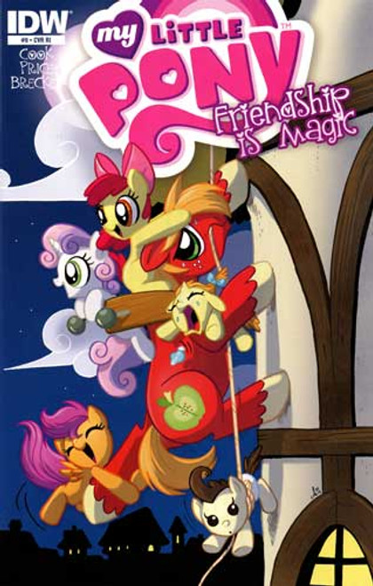 My Little Pony Friendship is Magic #9 Comic Book [Retailer Incentive]