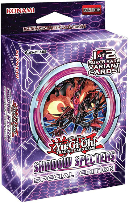YuGiOh Trading Card Game Shadow Specters Special Edition [3 Booster Packs & Promo Card!]