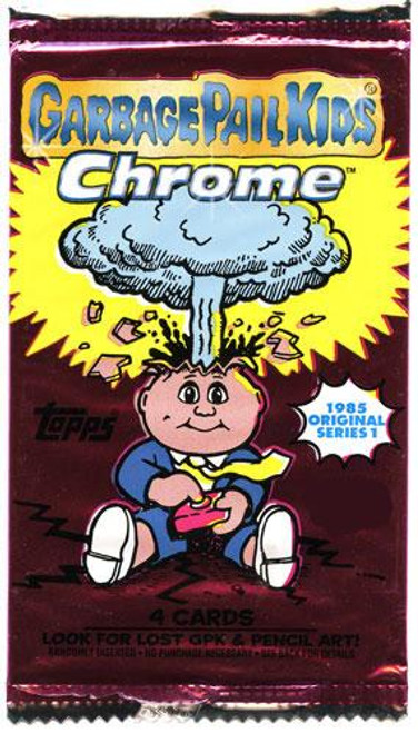 Garbage Pail Kids Topps 2013 Chrome Trading Card RETAIL Pack