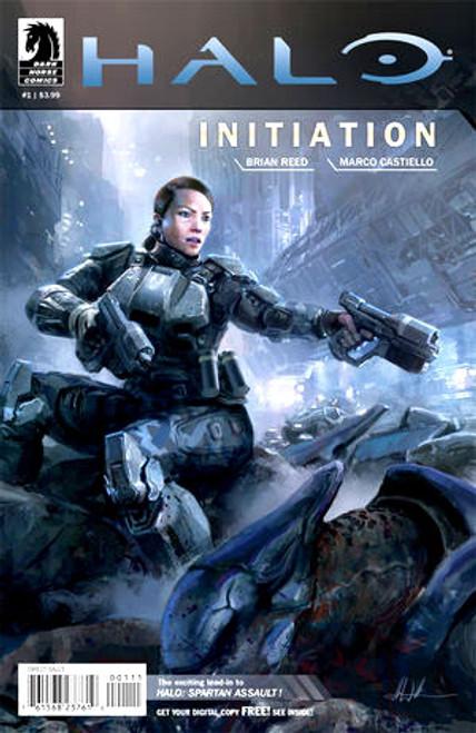 Halo Initiation #1 Comic Book [John Liberto cover]