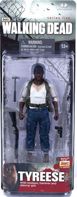 McFarlane Toys The Walking Dead AMC TV Series 5 Tyreese Action Figure