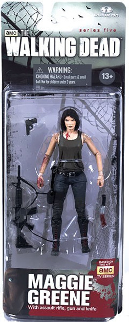 McFarlane Toys The Walking Dead AMC TV Series 5 Maggie Greene Action Figure