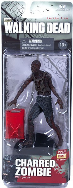 McFarlane Toys The Walking Dead AMC TV Series 5 Charred Zombie Action Figure