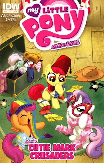 My Little Pony Micro-Series #7 Featuring Cutie Mark Crusaders Comic Book [Cover A]