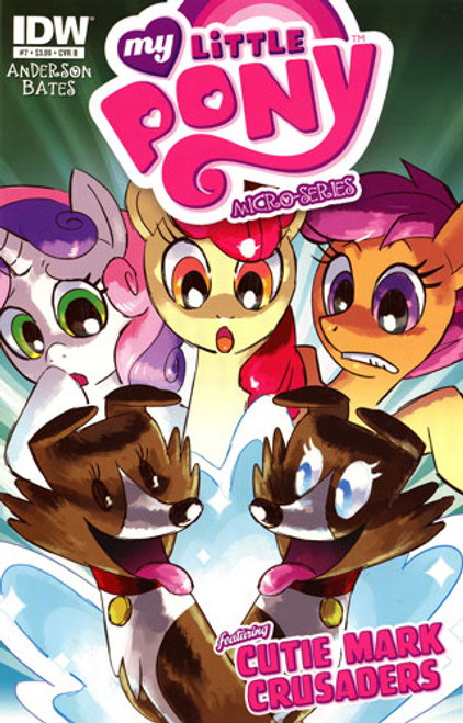 My Little Pony Micro-Series #7 Featuring Cutie Mark Crusaders Comic Book [Cover B]