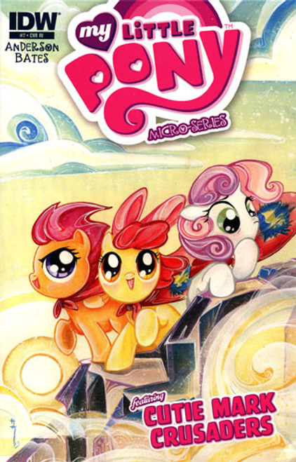 My Little Pony Micro-Series #7 Featuring Cutie Mark Crusaders Comic Book [Retailer Incentive]