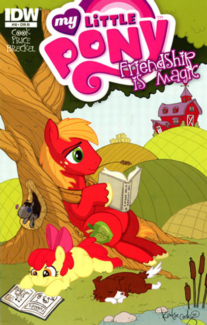 My Little Pony Friendship is Magic #10 Comic Book [Retailer Incentive]
