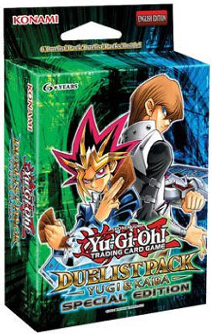 YuGiOh Trading Card Game Duelist Pack Yugi & Kaiba Special Edition [6 Booster Packs]