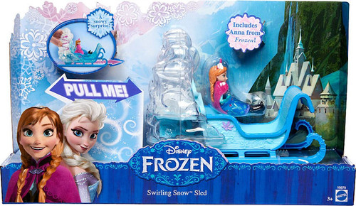 Disney Frozen Swirling Snow Sled Playset