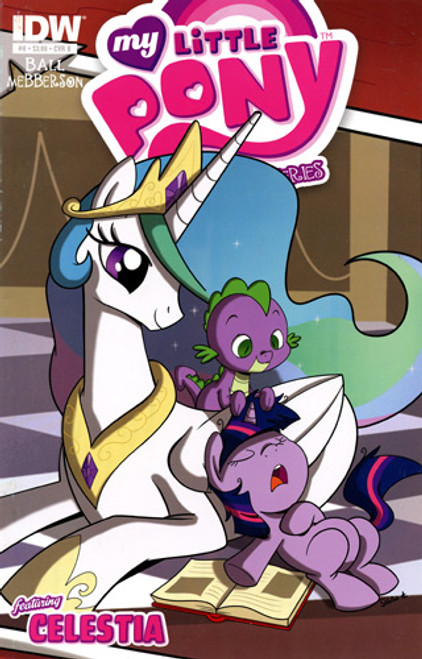 My Little Pony Micro-Series #8 Featuring Celestia Comic Book [Cover B]