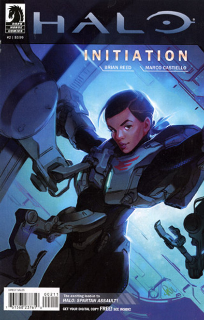 Halo Initiation #2 Comic Book [Paul Richards Cover]