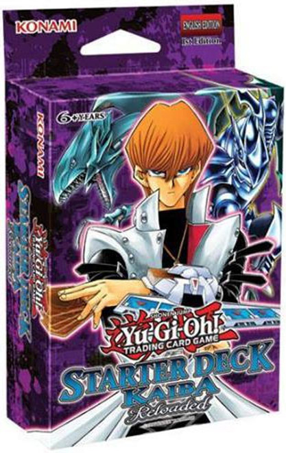 YuGiOh Trading Card Game Kaiba Reloaded (1st Edition) Starter Deck