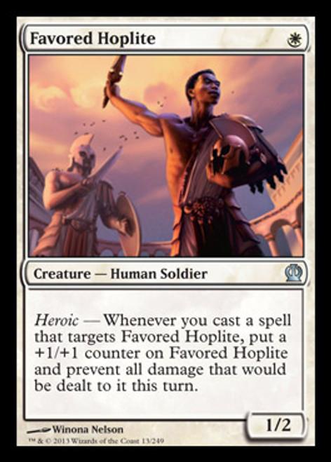 MtG Theros Uncommon Favored Hoplite #13