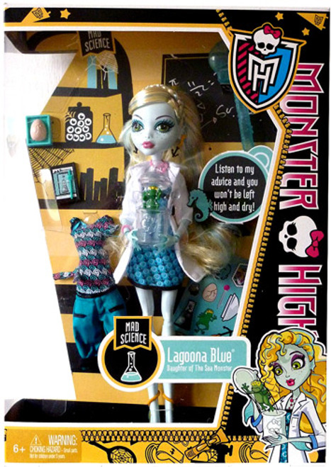Monster High Classroom Mad Science Lagoona Blue 10.5-Inch Doll [No Locker]