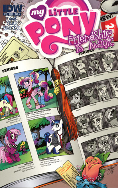 My Little Pony Friendship is Magic #11 Comic Book [Cover A]