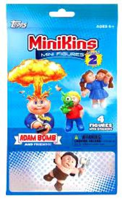 Garbage Pail Kids Topps MiniKins Series 2 Mystery Pack [4 RANDOM Figures]