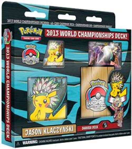 Pokemon Trading Card Game World Championships Deck 2013 Jason Klaczynski's Darkrai Deck