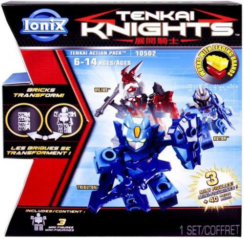 Tenkai Knights Vilius, Tributon & Kutor Minifigure 3-Pack #10502