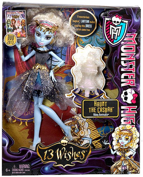 Monster High 13 Wishes Abbey Bominable Exclusive 10.5-Inch Doll [Haunt the Casbah]