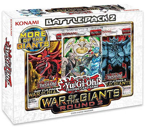 YuGiOh Trading Card Game Battle Pack 2 War of the Giants Round 2 Battle Kit [6 Booster Packs & 1 Draft Pack!]