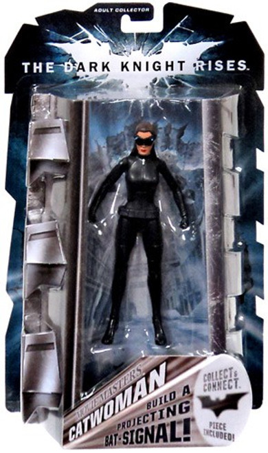Batman The Dark Knight Rises Projecting Bat Signal Series Catwoman Action Figure [Goggles Down Variant]