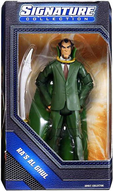 DC Universe Club Infinite Earths Signature Collection Ra's Al Ghul Exclusive Action Figure