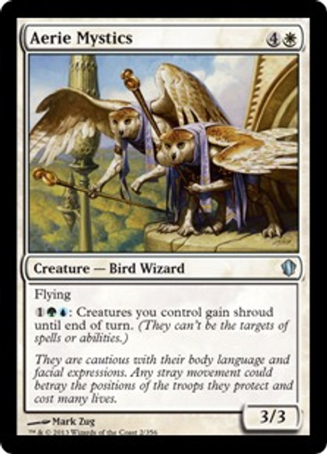 MtG Commander 2013 Uncommon Aerie Mystics #2