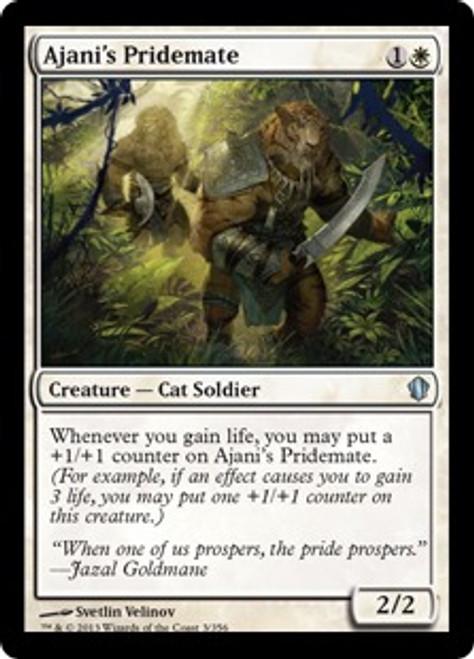 MtG Commander 2013 Uncommon Ajani's Pridemate #3