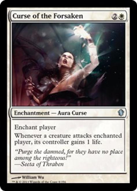 MtG Commander 2013 Uncommon Curse of the Forsaken #8