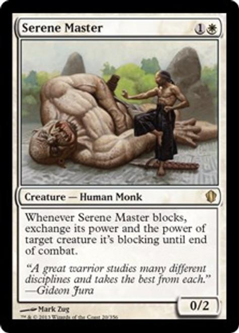 MtG Commander 2013 Rare Serene Master #20