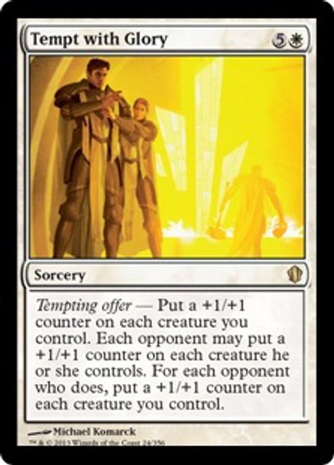 MtG Commander 2013 Rare Tempt with Glory #24