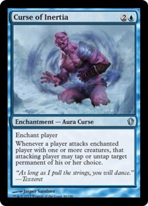 MtG Commander 2013 Uncommon Curse of Inertia #36