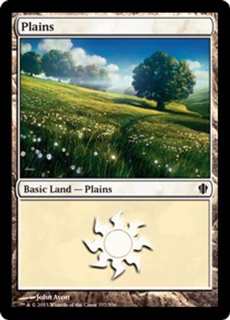 MtG Commander 2013 Land Plains #337