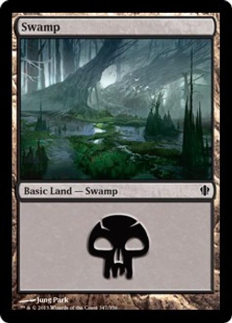 MtG Commander 2013 Land Swamp #345