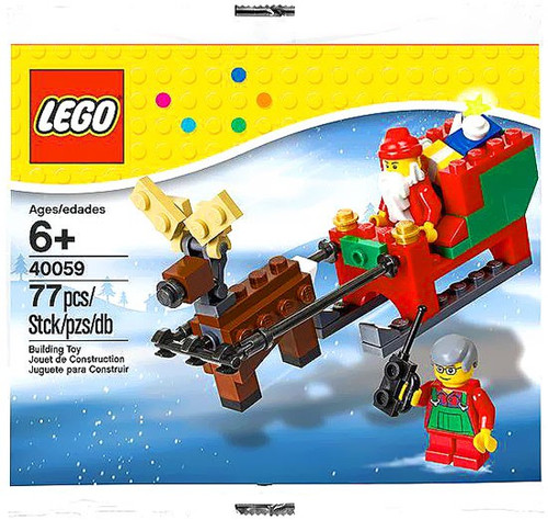 LEGO Exclusives Santa's Sleigh Exclusive Mini Set #40059 [Bagged]